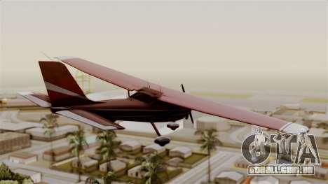 GTA 5 Jobuilt Mammatus para GTA San Andreas esquerda vista