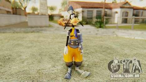 Kingdom Hearts 1 Goofy Disney Castle para GTA San Andreas segunda tela
