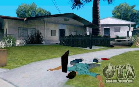 De vidro com alça para GTA San Andreas terceira tela
