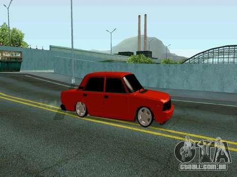VAZ 2107 Rang Rover Edition para GTA San Andreas esquerda vista