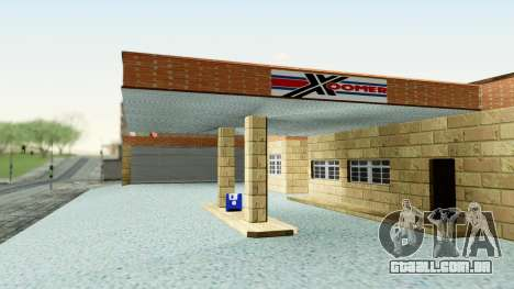 HD Doherty Garage para GTA San Andreas segunda tela