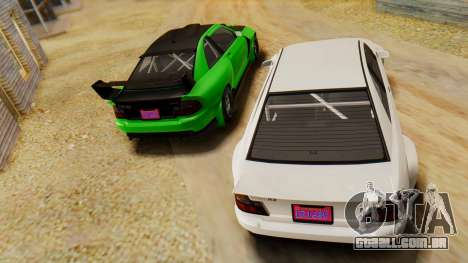 GTA 5 Karin Sultan RS IVF para GTA San Andreas vista direita