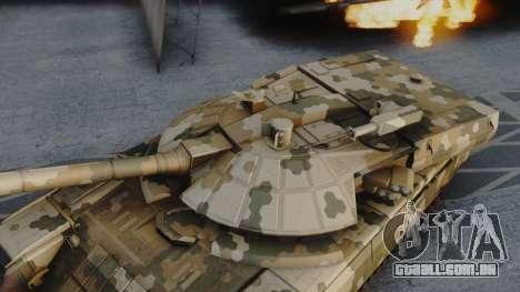 T-100 Varsuk para GTA San Andreas traseira esquerda vista