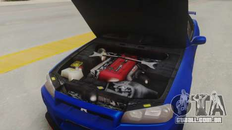 Nissan Skyline GT-R 2005 Z-Tune Nismo Prototype para GTA San Andreas vista traseira