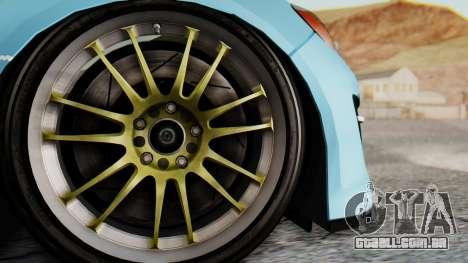 Mazda RX-8 Itasha para GTA San Andreas vista traseira