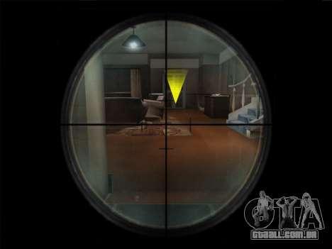 Um conjunto de armas russas para GTA San Andreas décimo tela
