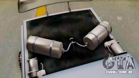 Slamvan v2.0 para GTA San Andreas vista direita