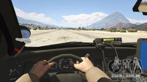 GTA 5 NYPD Ford CVPI HD voltar vista