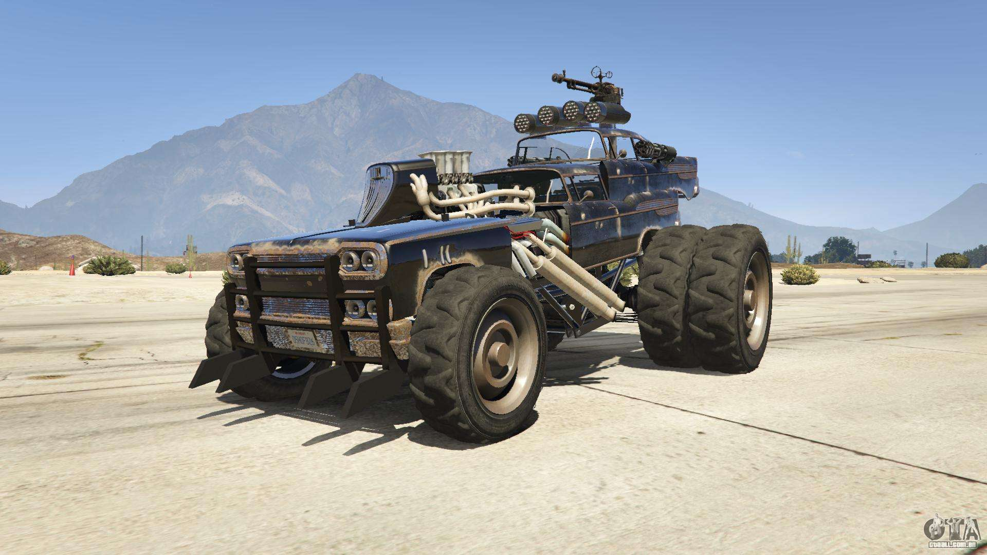 Mad Max The Gigahorse Para Gta 5
