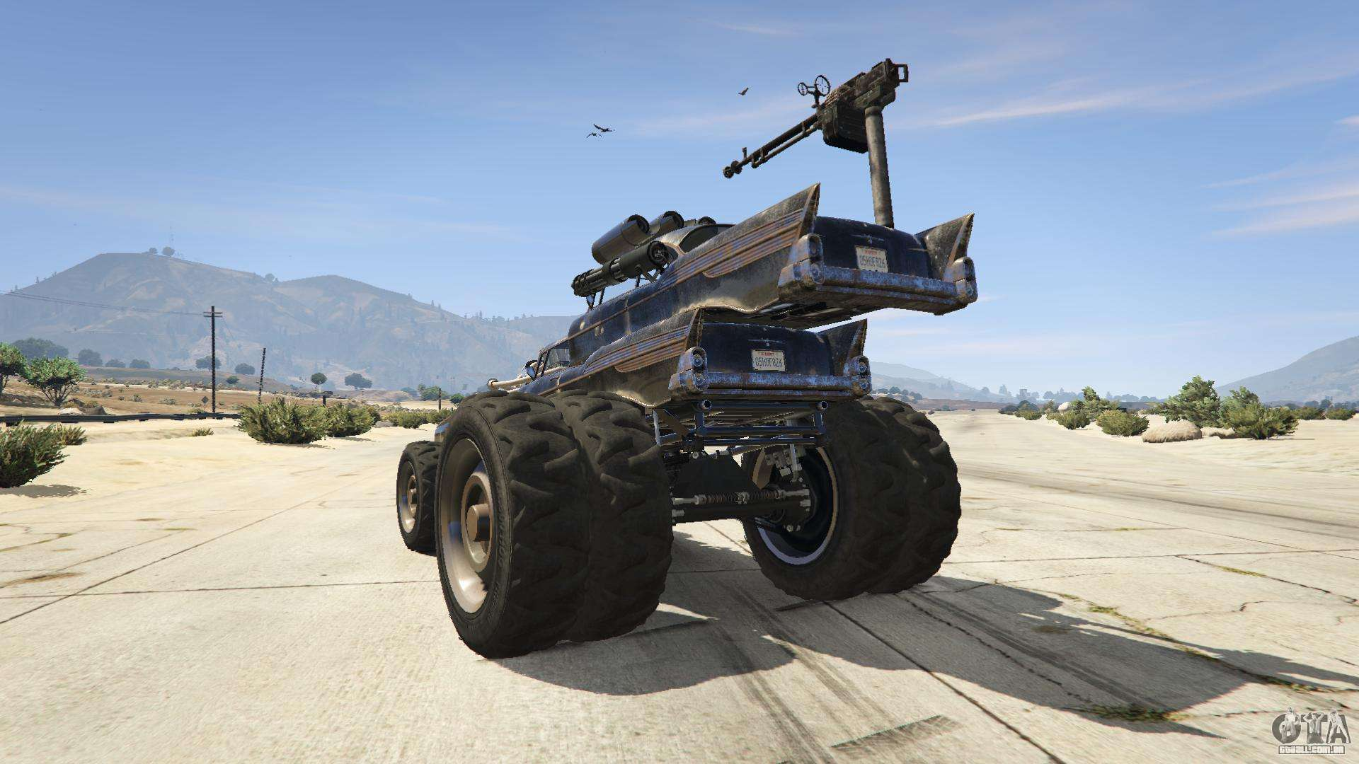 mad max car on gta 5 location  mad  free engine image for