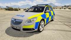 Police Vauxhall Insignia Estate