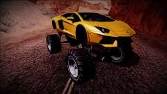 Lamborghini Aventador Monster Truck