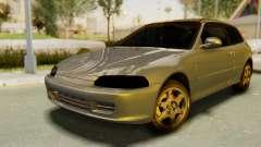 Honda Civic Vti 1994 V1.0 IVF para GTA San Andreas