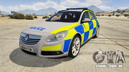 Police Vauxhall Insignia Estate para GTA 5