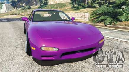 Mazda RX-7 FD3S Stanced [with camber] v1.1 para GTA 5