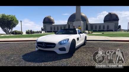 Mercedes-Benz AMG GT 2016 para GTA 5