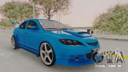 Mazda 3 Full Tuning para GTA San Andreas