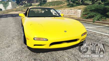 Mazda RX-7 FD3S Stanced [without camber] v1.1 para GTA 5