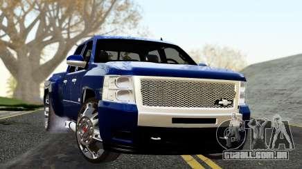 Chevrolet Cheyenne 2012 Dually para GTA San Andreas