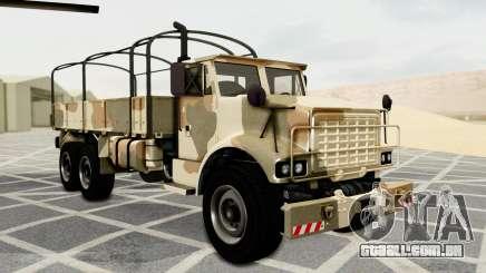 Barracks from GTA 5 para GTA San Andreas