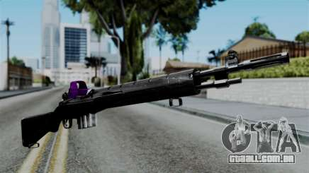 Purple Rifle para GTA San Andreas