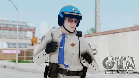 GTA 5 Cop-Biker para GTA San Andreas