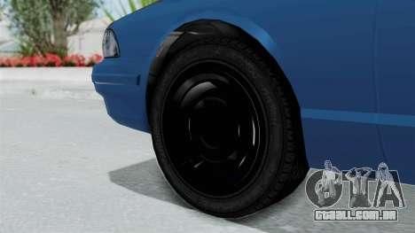 GTA 5 Vapid Stanier II Taxi para GTA San Andreas vista traseira