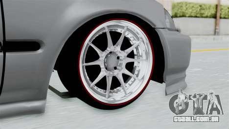 Honda Civic para GTA San Andreas traseira esquerda vista