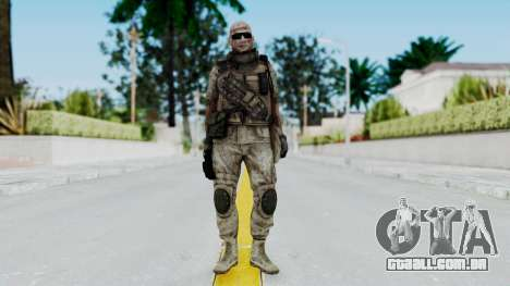 Crysis 2 US Soldier FaceB2 Bodygroup B para GTA San Andreas segunda tela