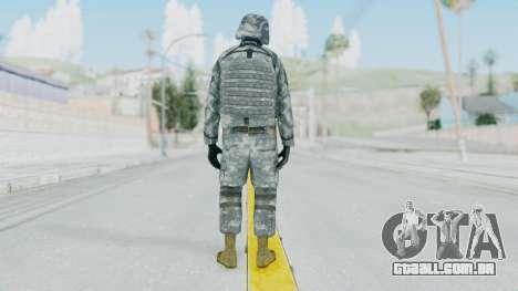 Acu Soldier Balaclava v1 para GTA San Andreas terceira tela
