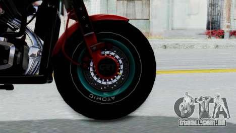 Turbike 3.0 para GTA San Andreas traseira esquerda vista