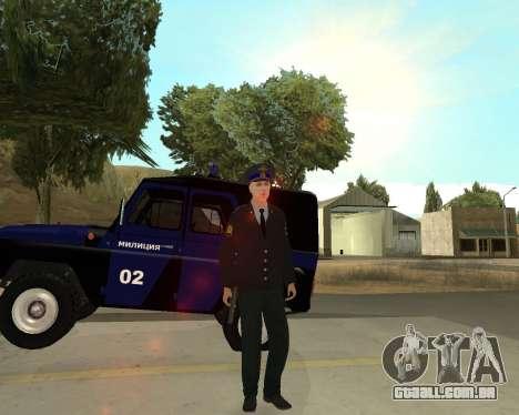A Pele É Sergei Glukharev para GTA San Andreas quinto tela