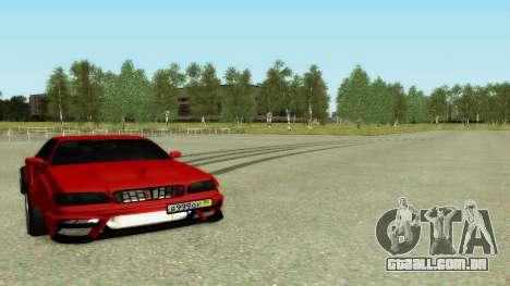 Nissan Cedric WideBody para vista lateral GTA San Andreas