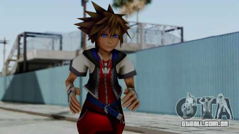 Kingdom Hearts 2 - Sora Early Costume Fix para GTA San Andreas