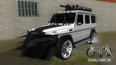 Mercedes-Benz G55 Response para GTA San Andreas