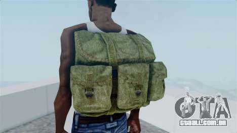 Arma 2 Alice Backpack para GTA San Andreas terceira tela