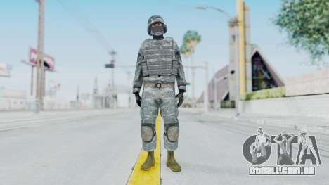 Acu Soldier Balaclava v1 para GTA San Andreas segunda tela
