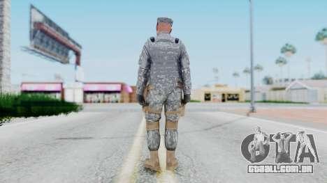 GTA 5 US Marine para GTA San Andreas terceira tela