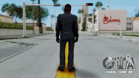 John Wich without Glasses - Payday 2 para GTA San Andreas segunda tela