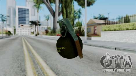 No More Room in Hell - Grenade para GTA San Andreas