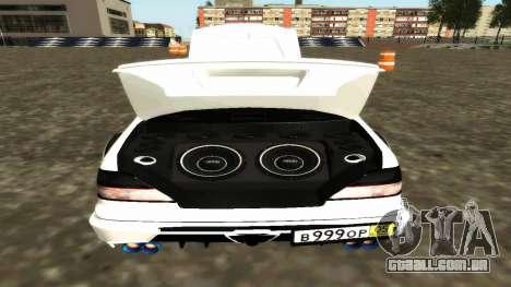Nissan Cedric WideBody para GTA San Andreas vista inferior