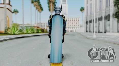 Kingdom Hearts BBS - Ventus Armored v1 para GTA San Andreas terceira tela