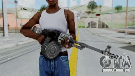 GTA 5 MG - Misterix 4 Weapons para GTA San Andreas terceira tela