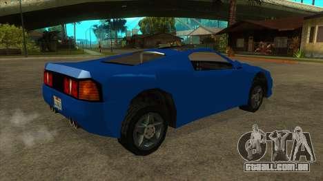 GTA LCS Deimos SP para GTA San Andreas vista direita