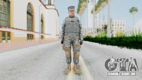 GTA 5 US Marine para GTA San Andreas segunda tela