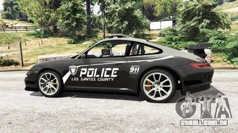 Porsche 911 GT3 RS Pursuit Edition para GTA 5