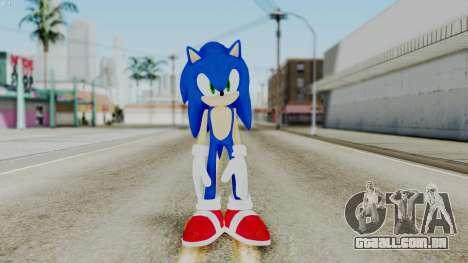 Sonic The Hedgehog 2006 para GTA San Andreas segunda tela