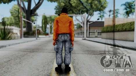 CS 1.6 Hostage 04 para GTA San Andreas terceira tela