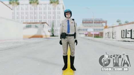 GTA 5 Cop-Biker para GTA San Andreas segunda tela
