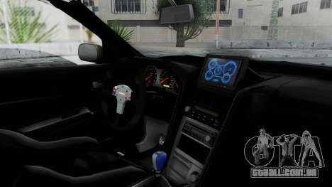 Nissan Skyline GT-R R34 2002 F&F4 Damage Parts para GTA San Andreas vista direita